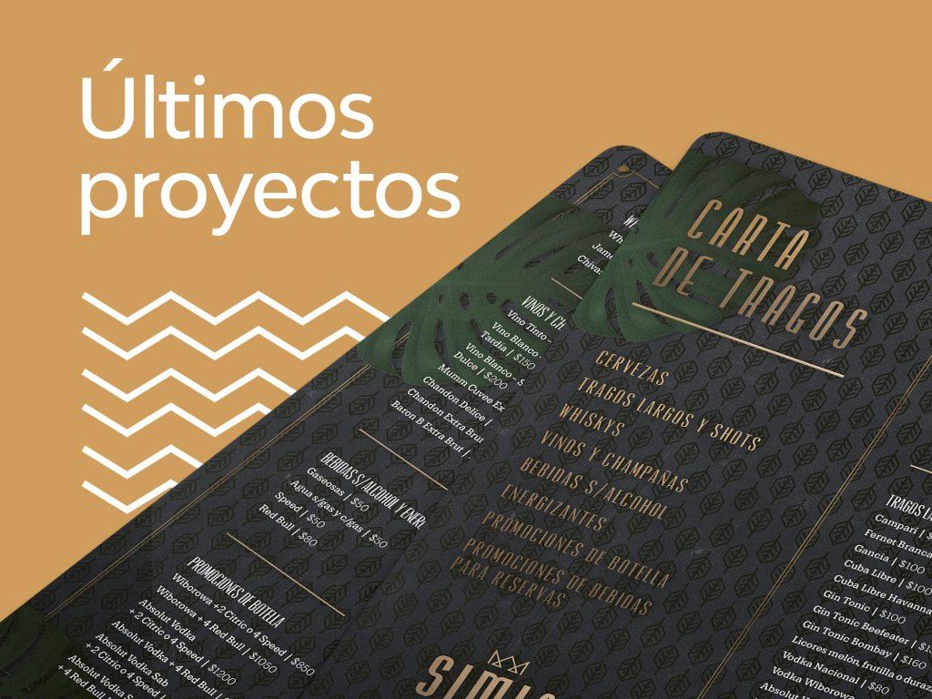 Últimos proyectos